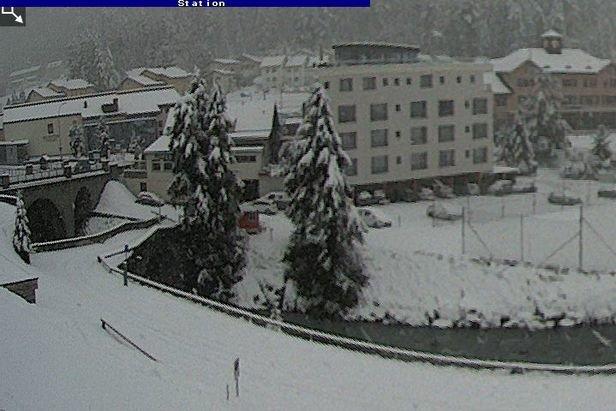 5cm of snow for Engadin-St. Moritz 8.9.19  - © Engadin-St. Moritz