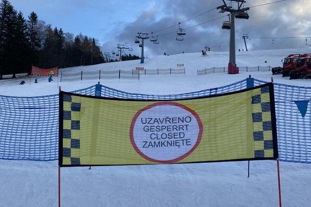 Zakaz wstępu na trasy narciarskie