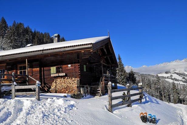 Fresh snow in Kitzbuhel 15.1.21  - © Kitzbuehel/Facebook