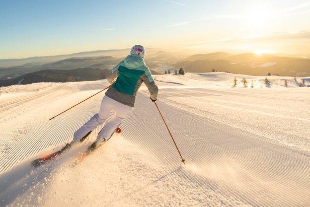 Zimą w ośrodkach narciarskich Karyntii jest o około 100 godzin słońca więcej niż w stacjach leżących na północ od głównej grani Alp
