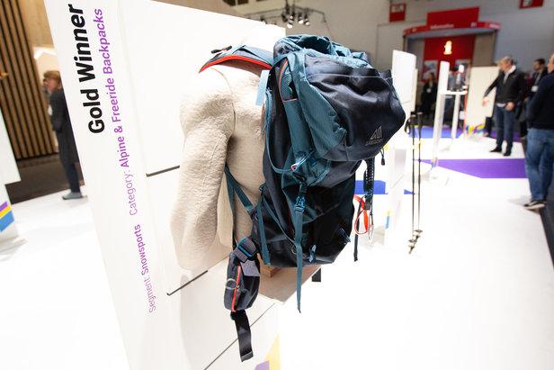 Gold-Gewinner Gregory Targhee FastTrack mit dem neuen FastTrack-Skitragesystem  - © Skiinfo