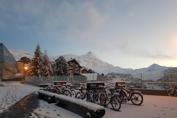 První sníh v Aletsch Areně  - © Aletsch Arena