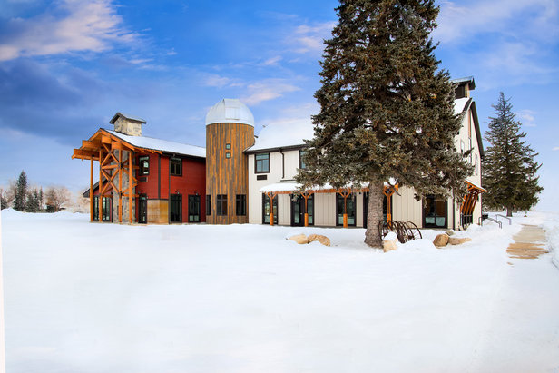 Upscale farmhouse minutes away from skiing.  - © Courtesy of Compass Rose