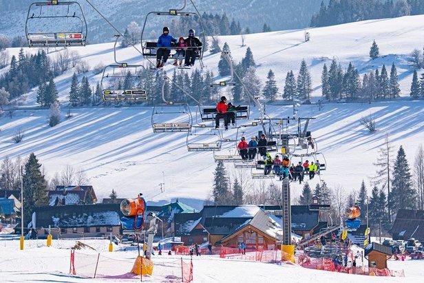 FOTO: Január na slovenských horách ©facebook | Strachan Ski centrum