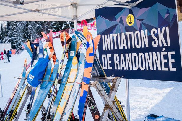 Le White week-end de Saint Gervais est l'occasion idéale pour s'essayer au ski de raondonnée...
