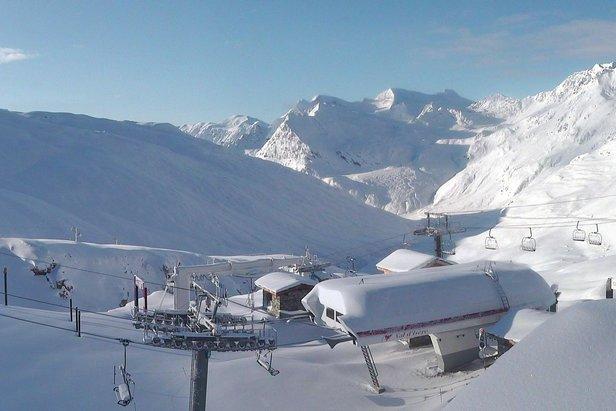 Val d'Isère 5.11.2019  - © Webcam Roundshot