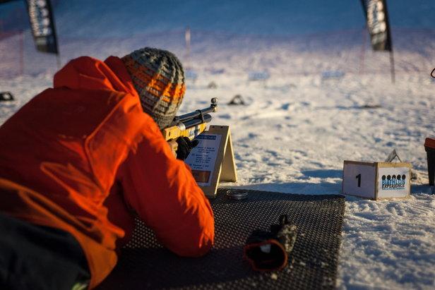 Course, luge et tir à la carabine sont au programme de la Valmyathlon...