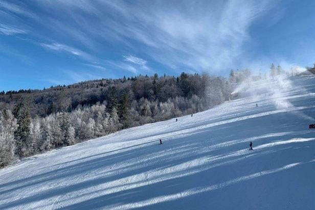 Veľmi dobré snehové podmienky a veľa zábavy v Snowparadise Veľká Rača
