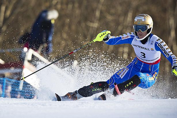 Ski WM 2011: Doppelsieg für Österreich im Slalom, Riesch Vierte ©OK GAP2011 / Schelbert Alex
