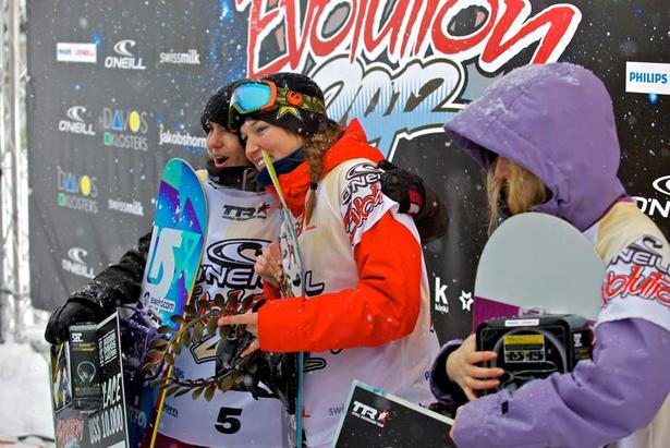 O`Neill Evolution 2012: Spencer O'Brien und McMorris gewinnen Big Air Finals- ©O` Neill Evolution