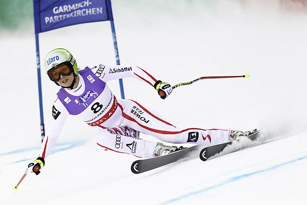 Ski WM 2011: Stimmen von der Sieger-Pressekonferenz Super-Kombi Damen- ©Head