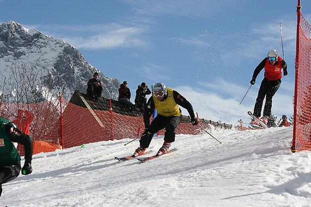 Erstmals German Ski Cross Tour am Kranzberg: Bohnacker und Weilharter siegreich- ©Skiclub Mittenwald
