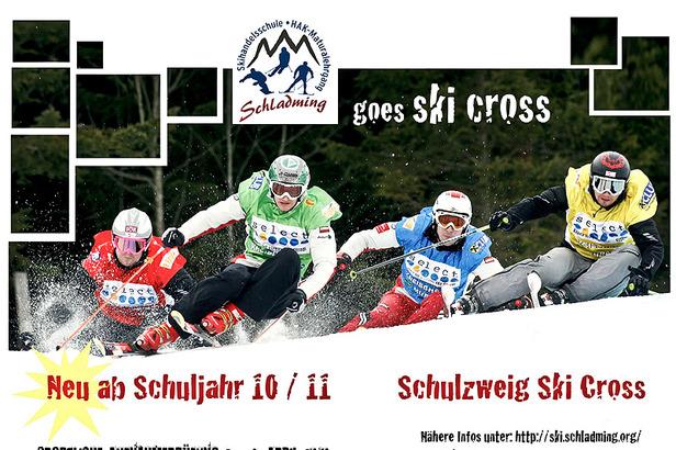 Ski Cross macht Schule- ©Skihandelsschule Schladming