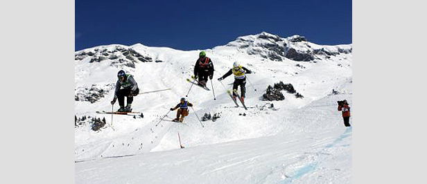 Ski Cross Weltcup-Auftakt in St. Johann- ©Stefan Hunziker