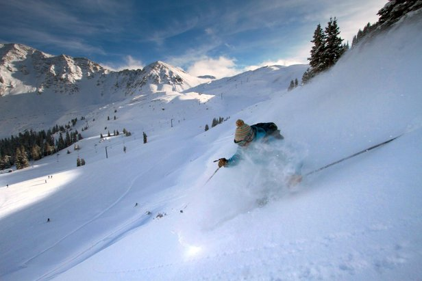 Arapahoe Basin slalom skier