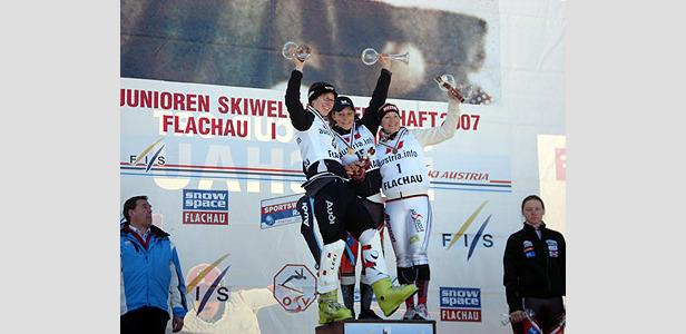 Silber für Katharina Dürr bei Junioren Ski-WM ©Peter Dürr