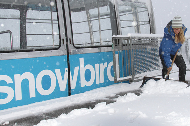 Utah Snowfall Photo Gallery- ©Snowbird