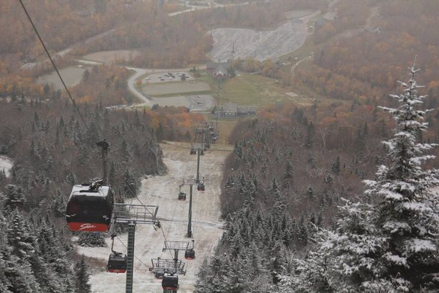 October Snowfall Across North America: Storm Gallery- ©Stowe Mountain Resort/Facebook