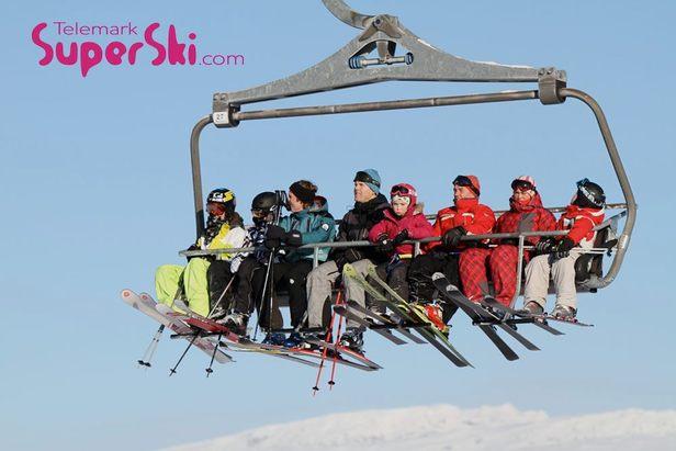 Telemark Super Ski region