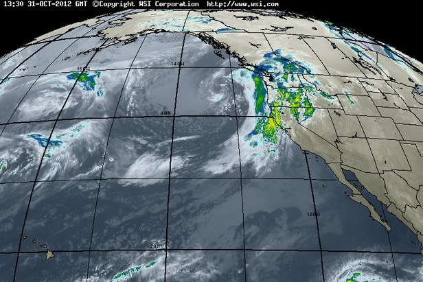 Where's the Snow this Weekend: West Coast Report 11/1/12