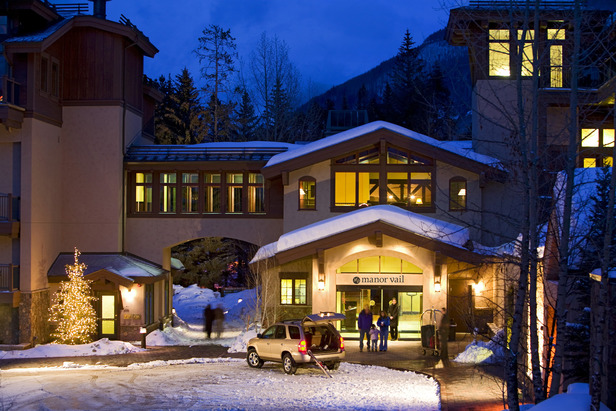 The Manor Vail Lodge in Vail, Colorado.