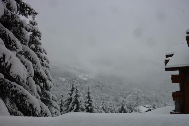 Where is the snow in Europe and North America?- ©Meribel