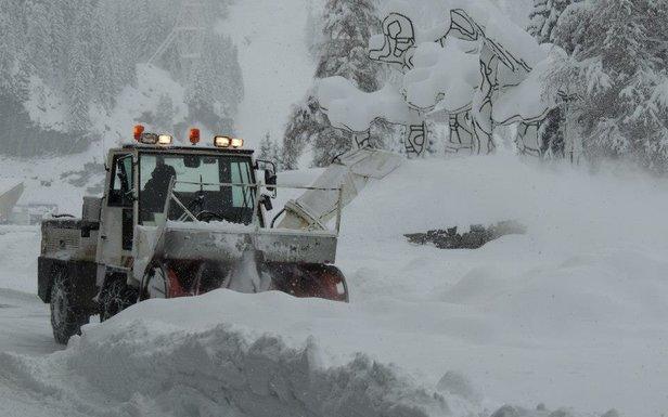 Flaine sous la neige...