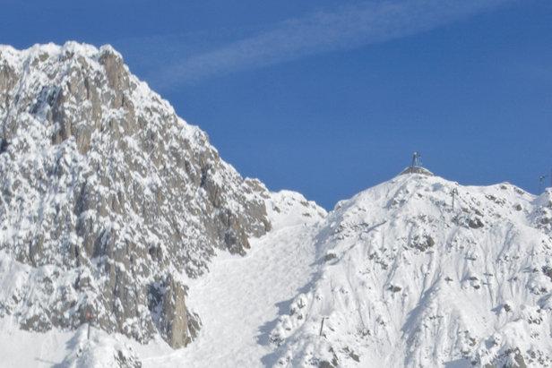 Słynna Skiroute 6: Hafelekarrinne w ośrodku Innsbrucker Nordkettenbahnen