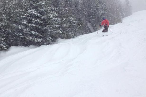 Late December Snow Storm Hits the Northeast: Storm Gallery- ©Sunday River/Facebook