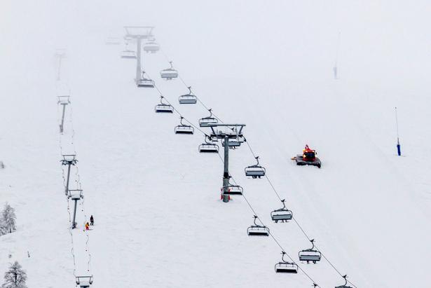 Over 2 meter snø i Myrkdalen nå- ©Jan Petter Svendal