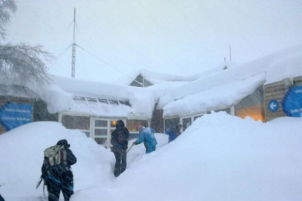 Chutes de neige du 15 janvier 2013 - Piau Engaly
