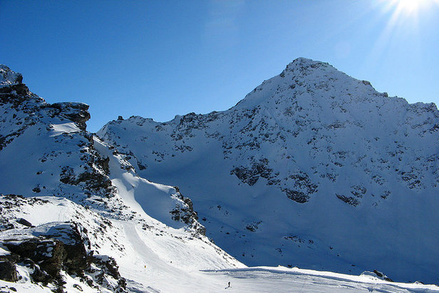 "Bec des Rosses, Verbier ""Riddled with dead-end chutes and sharky rocks""  - © Richard C Jones"