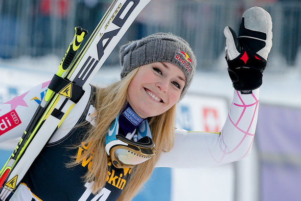 Lindsey Vonn, Maribor 2013
