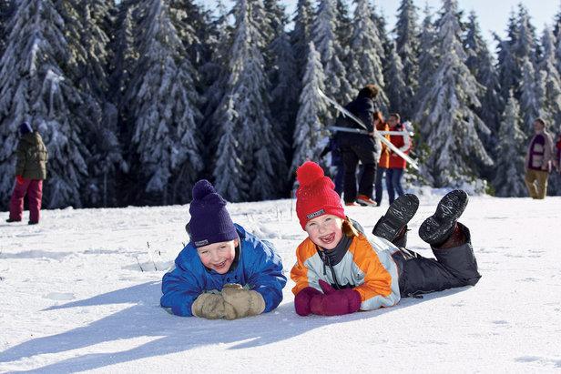 Bambini sulla neve!