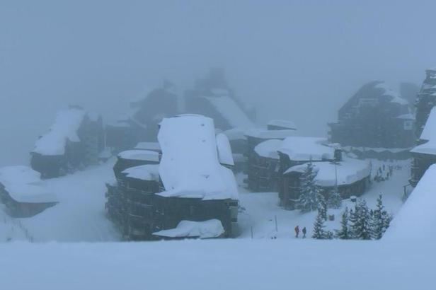 Where is the snow at the start of April?- ©Avoriaz
