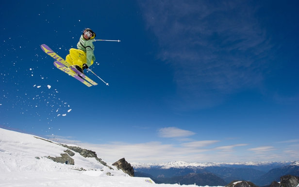 Skiing in summer on Horstman Glacier on Blackcomb Mountain  - © Mike Crane/Tourism Whistler