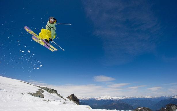Skiing in summer on Horstman Glacier on Blackcomb Mountain  - © Mike Crane/Tourism Whistler