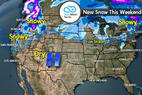 Snow Before You Go: 3 Storm Systems Headed Here... - © Meteorologist Chris Tomer