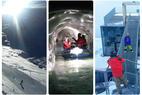 Trzy dni na lodowcach Tyrolu: wiele nowości, świetne warunki i tropy Bonda - © Tomasz Wojciechowski