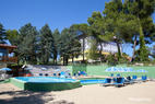 The Outdoor Swimming Pool at the Parc Hotel Villa Immacolata