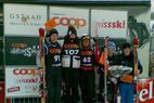 Über 200 Teilnehmer bei der Coop Skicross Tour in Zweisimmen - © Heli Herdt
