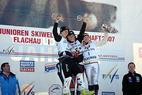 Silber für Katharina Dürr bei Junioren Ski-WM - © Peter Dürr