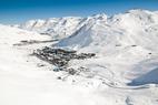 Sneeuwbericht: Waar ligt momenteel de sneeuw in Europa en Noord-Amerika? ©Tignes
