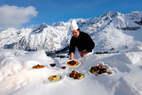 Quand la gastronomie s'invite dans les restos d'altitude - © adamelloski.com