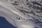 Powder in Roldal, Norway Feb. 6, 2013 - ©Røldal Skisenter