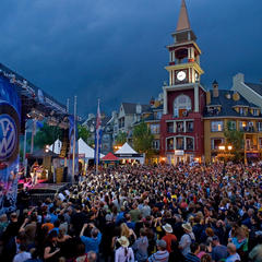 Quebec's Tremblant becomes the Blues Capital of the world for one week in July thanks to the Tremblant International Blues Festival.  - © Mont Tremblant