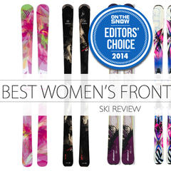 Be Front of the Pack, Frontside With These 5 Women's Skis