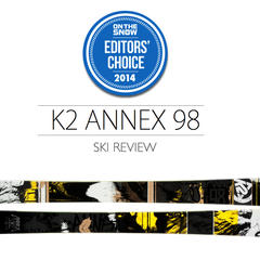 2014 Men's All-Mountain Ski Editors' Choice: K2 Annex 98