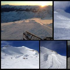 Snowpark v Tignes, 30.10.2013 - © Tignes