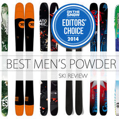And the editors' choice for best men's powder ski goes to...